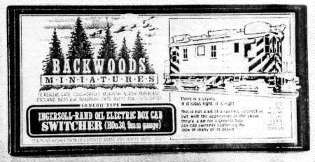 Backwoods Miniatures