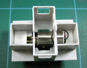 Top view with mechanism