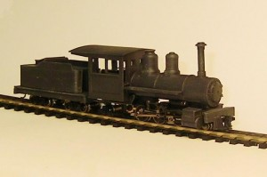 Baldwin 2-6-2 with Tender