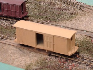 24 ft. Billerica and Bedford / Sandy River Railroad freight car