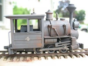 Railway Recollections 0-6-0 Saddle Tank Porter, Model by Bill Turner