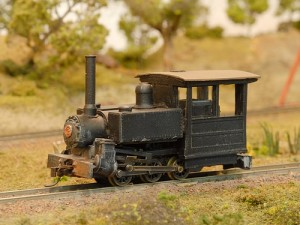 Railway Recollections 0-6-0 Side Tank Porter, model by Peter Bartlett